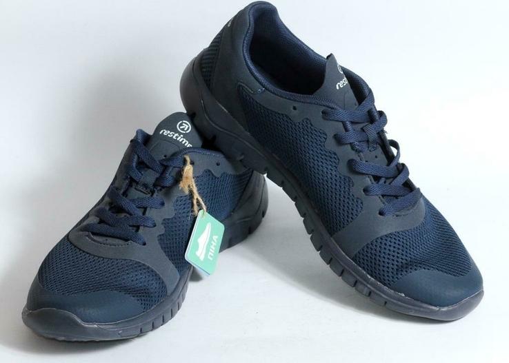 Летние кроссовки Restime - синие, фото №7