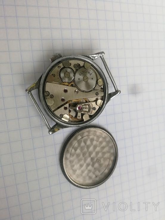 Военные WW2 Glycine наручные часы немецкая армия, фото №4