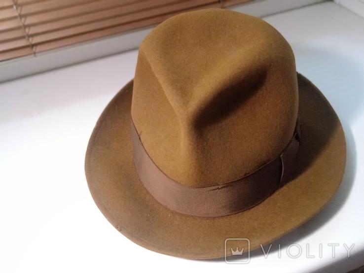 Шляпа фетровая Чехословакия, фото №3