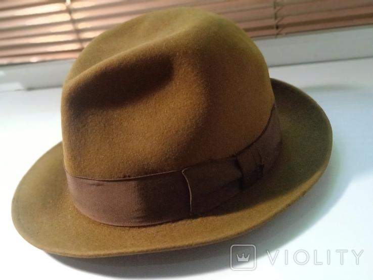 Шляпа фетровая Чехословакия, фото №4