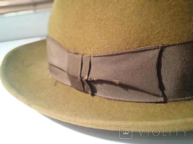 Шляпа фетровая Чехословакия, фото №8