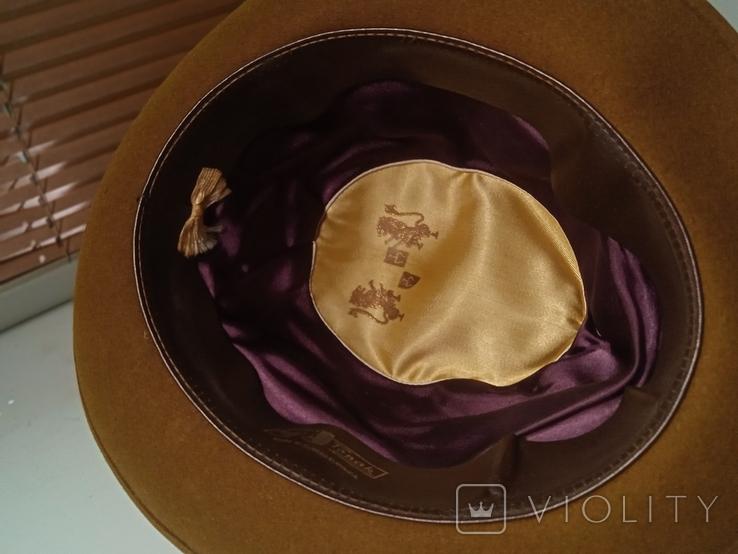 Шляпа фетровая Чехословакия, фото №11