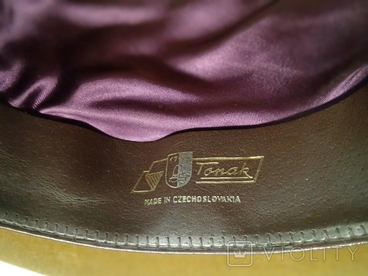 Шляпа фетровая Чехословакия, фото №12