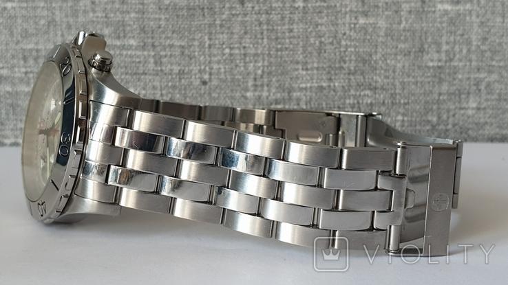 Мужские часы Wenger 7085x AquaGraph Chrono 41mm 200m Swiss Made, фото №6