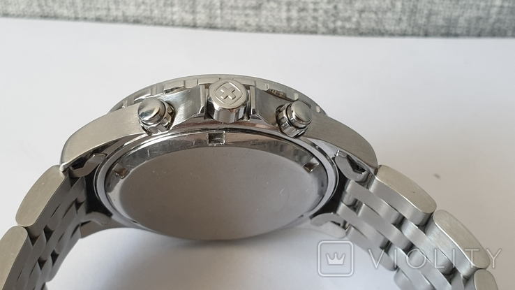 Мужские часы Wenger 7085x AquaGraph Chrono 41mm 200m Swiss Made, фото №8