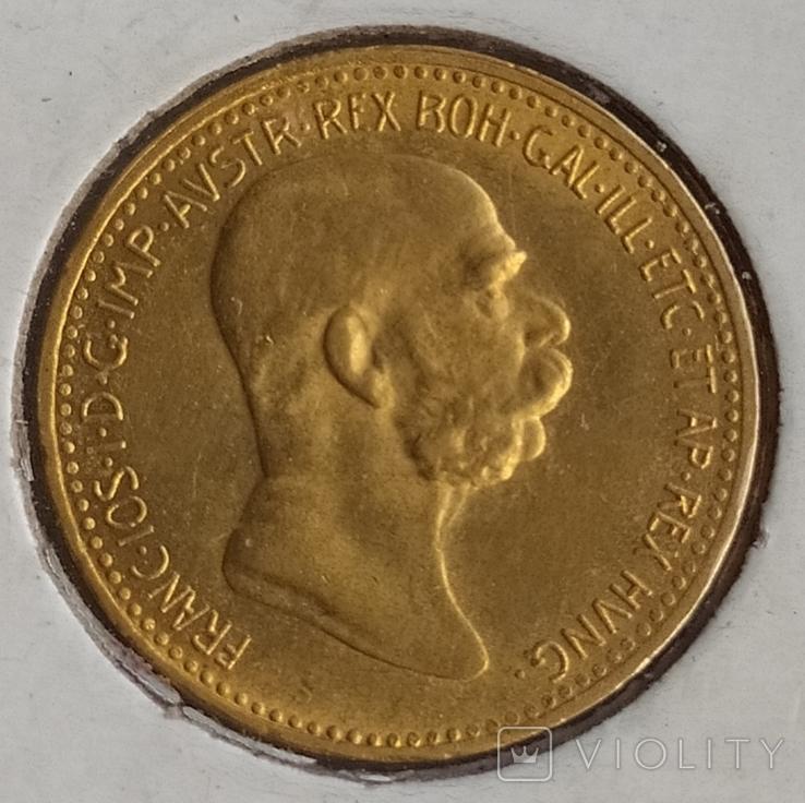 10 корон Австро-Угорщини-1909року., фото №7