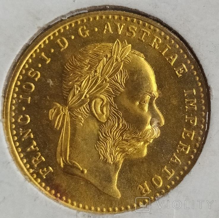 1дукат 1915року Австрія,, Кайзер Франц-Йозеф l, фото №3