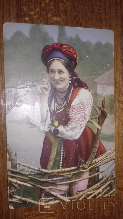 Українські типи і краєвиди. Молодиця., фото №2