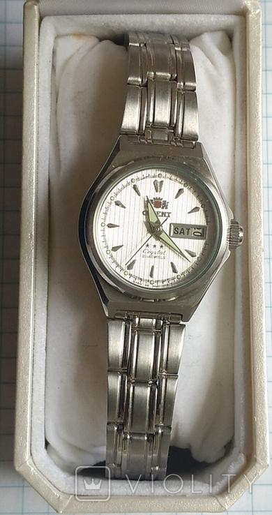 Часы Ориент, 21 камень, в родной упаковке., фото №2