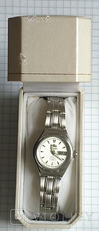 Часы Ориент, 21 камень, в родной упаковке., фото №3