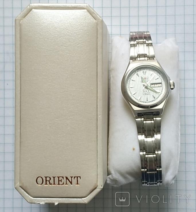 Часы Ориент, 21 камень, в родной упаковке., фото №4