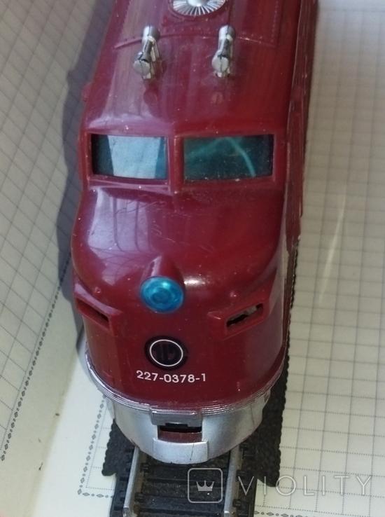 Тепловоз на железной дороге, фото №6