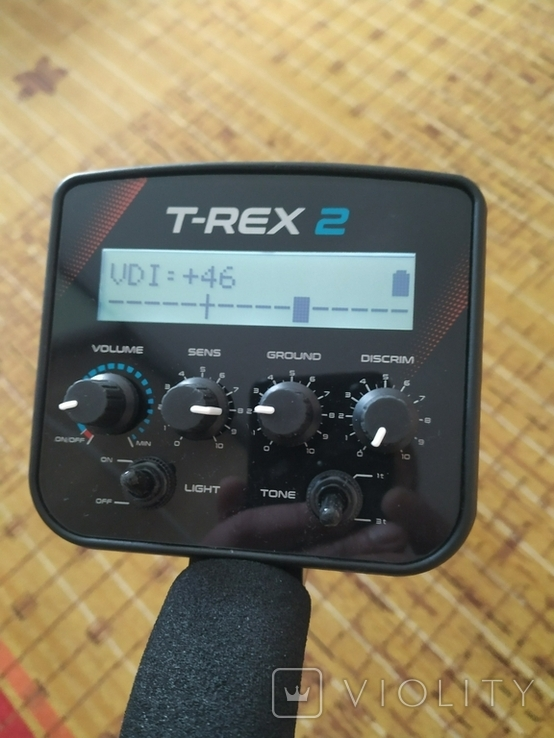 Металлоискатель T-REX 2 Turbo. Металошукач, металлодетектор с VDI, фото №5