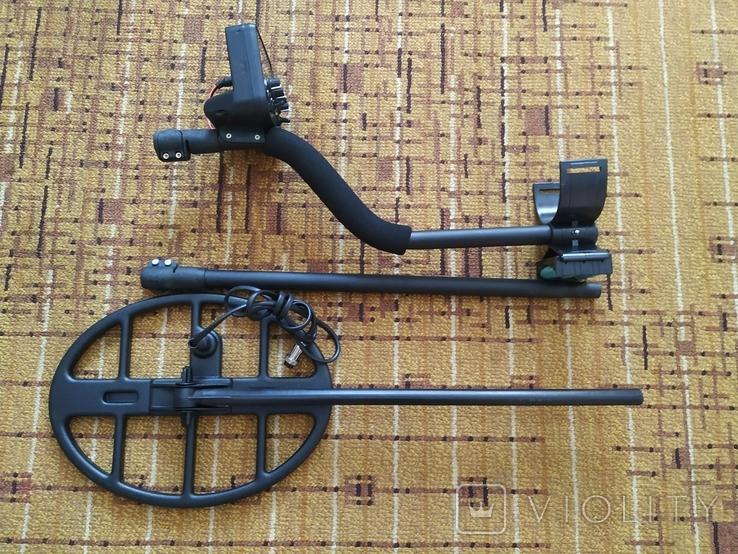 Металлоискатель T-REX 2 Turbo. Металошукач, металлодетектор с VDI, фото №6