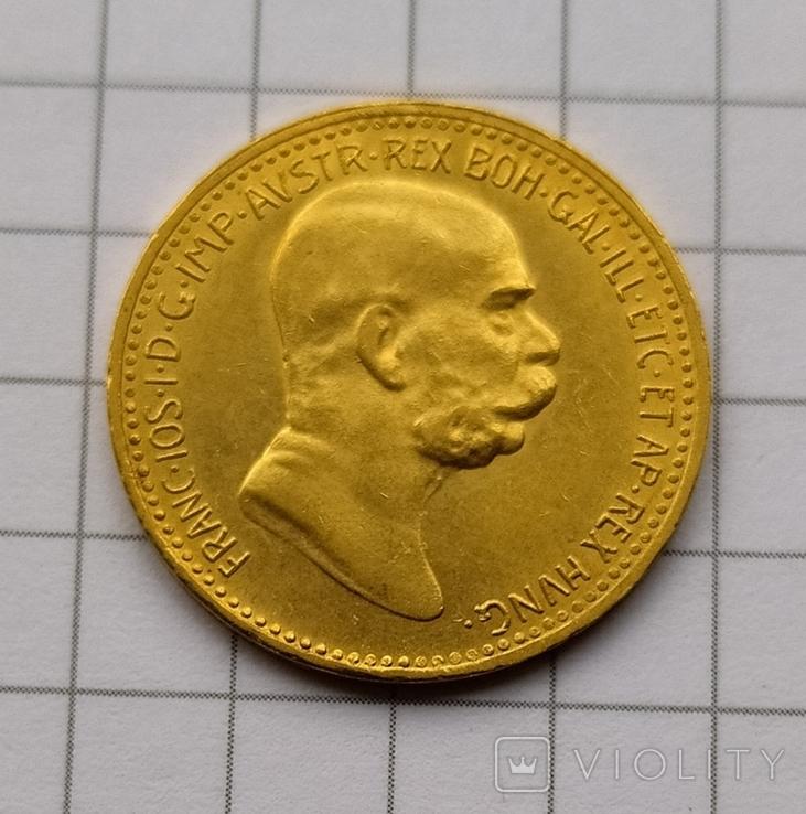 10 корон Австро-Угорщини-1909року., фото №12