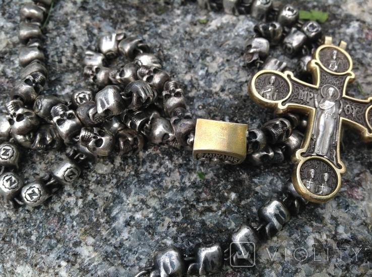 Цепь с крестом 166грам, фото №5