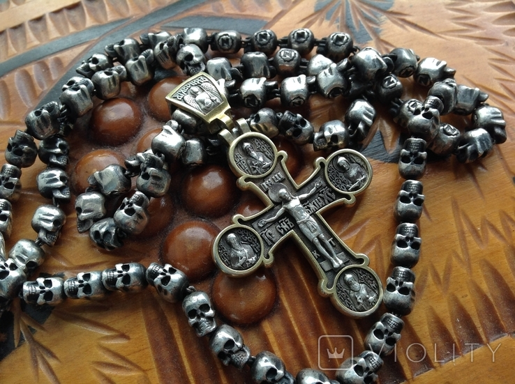 Цепь с крестом 166грам, фото №8