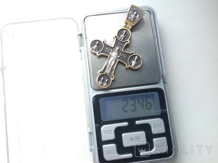 Цепь с крестом 166грам, фото №12