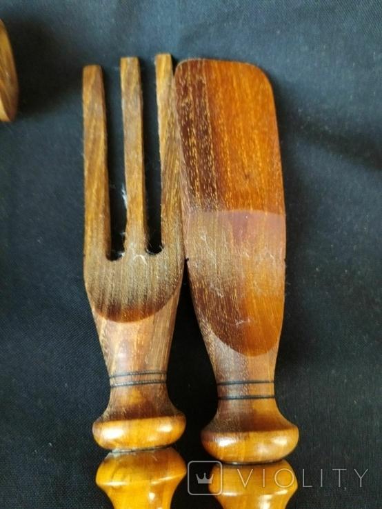 Деревянные кухонные приборы, фото №5