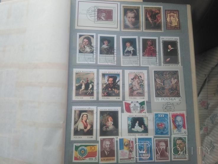 Большой альбом с марками, фото №5