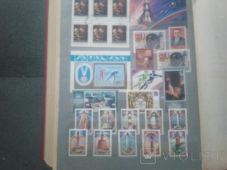 Большой альбом с марками, фото №8