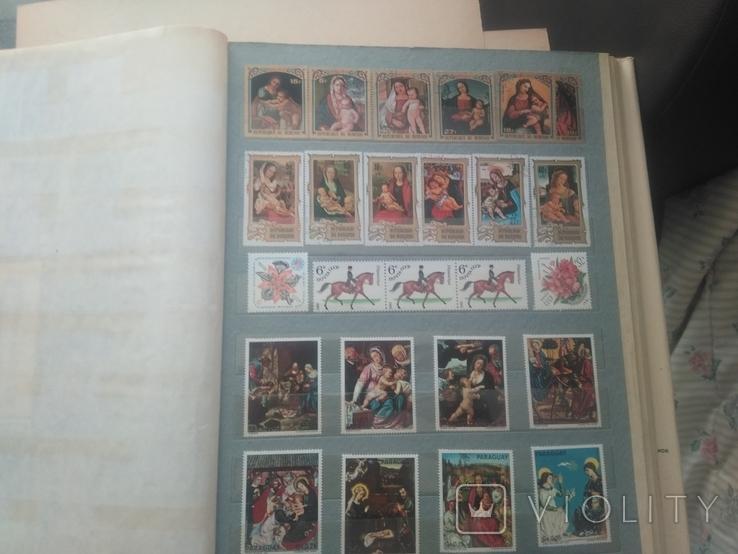 Большой альбом с марками, фото №11