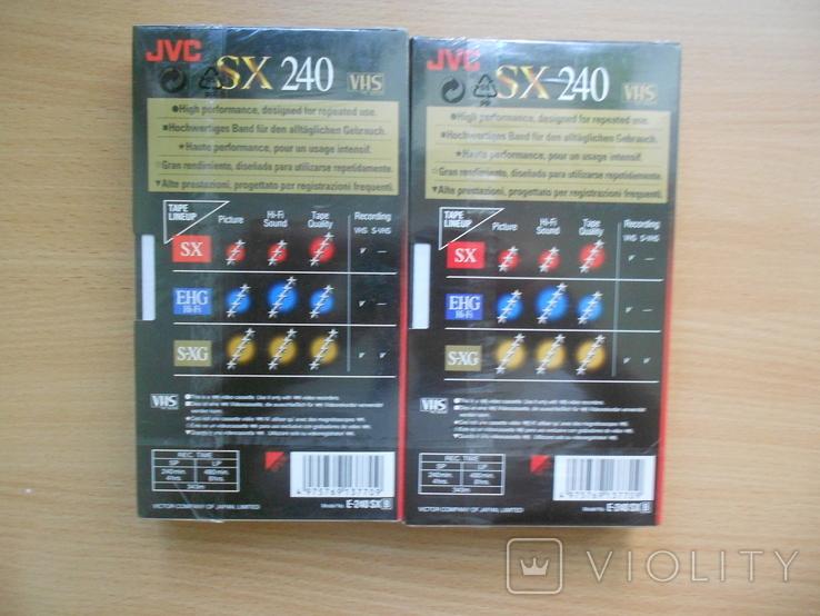 Видеокассеты JVC (2 шт.), фото №3
