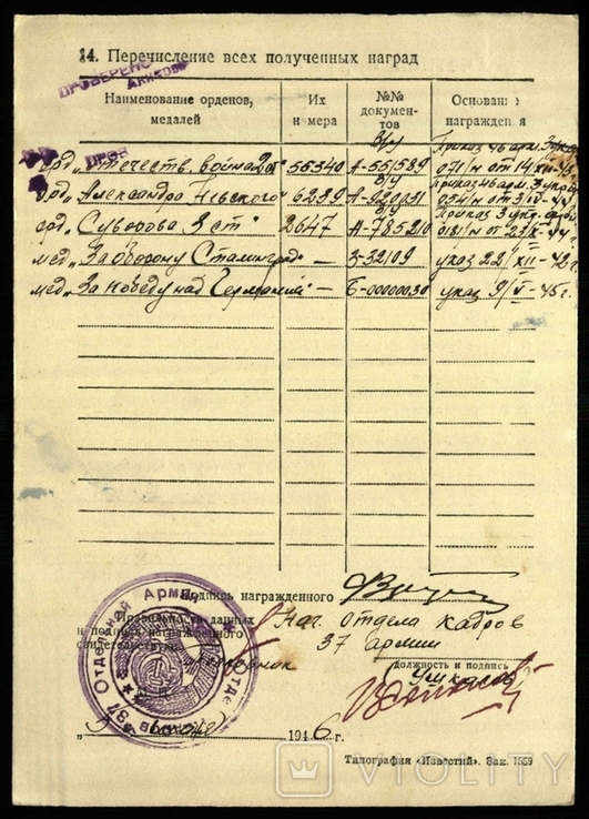 Орден А.Суворова 3 степени, фото №5