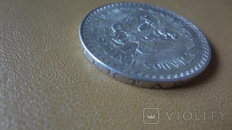 1 песо 1940 Мексика серебро (i.12.9)~, фото №6