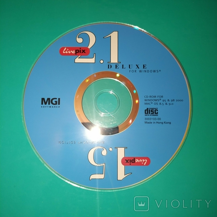 Диск - 2.1 Deluxe for Windows / 1.5 Macintosh Edition., фото №2