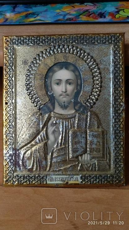 Икона Спасителя 14на 18см, фото №3