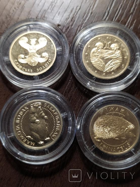 2 гривны Украина.Золото. 4 шт., фото №7