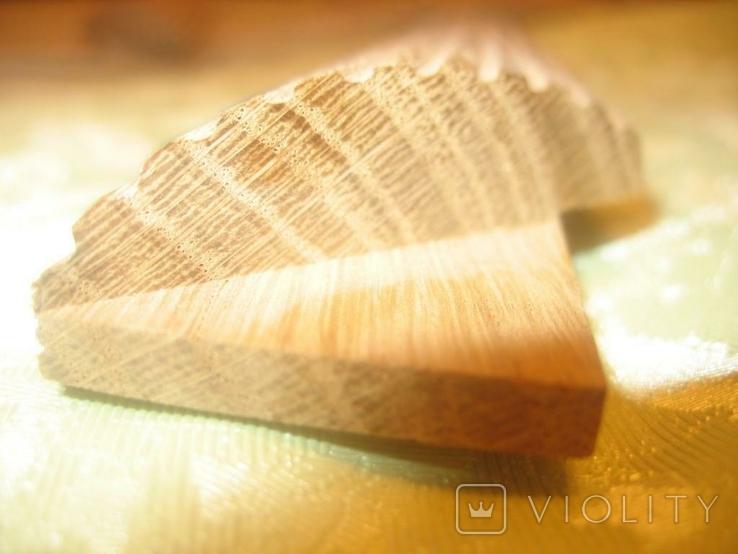 Рамка и под картину под старину (шашелем побитая) з натурального дуба формат А4, фото №11
