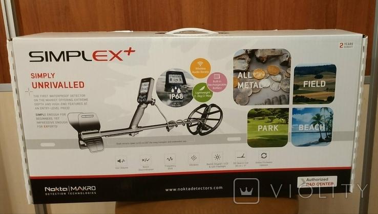 Металлоискатель Nokta Simplex+ WHP + рюкзак Нокта/Макро, фото №5