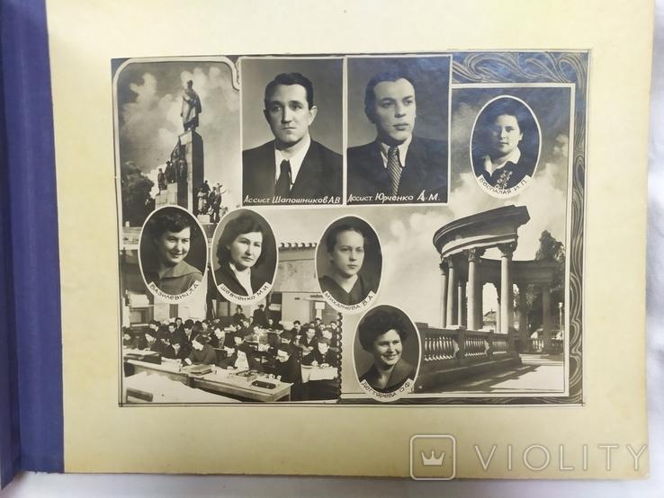1957 Фото альбом Сельско-хозяйственного института им Докучаева. Харьков. 16 фото, фото №13