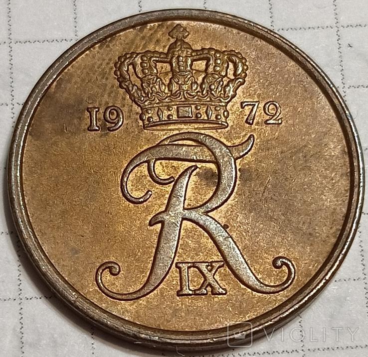 Дания 5 оре 1972, фото №3