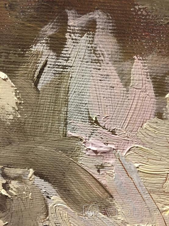 Масло холст Натюрморт 43/40, фото №4