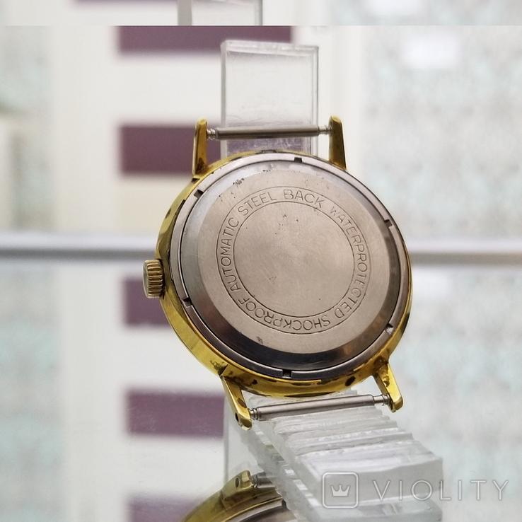 Позолоченные часы Полет де Люкс 29 камней Автоподзавод ау20 СССР, фото №7