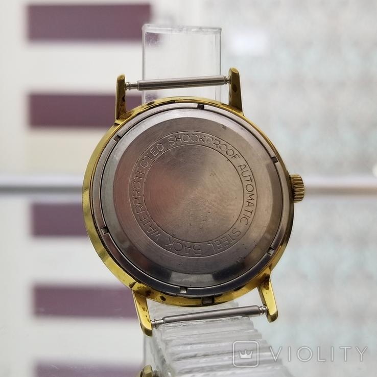 Позолоченные часы Полет де Люкс 29 камней Автоподзавод ау20 СССР, фото №8