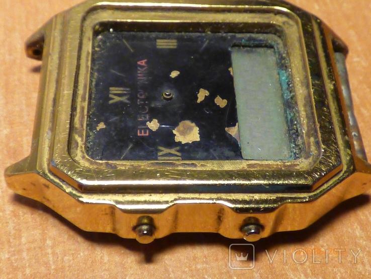 Редкие часы электроника 59 на запчасти или под восстановление, фото №7