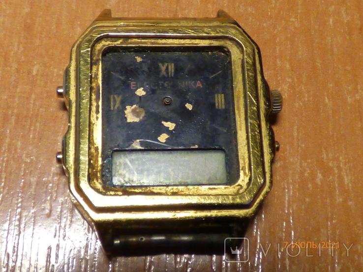 Редкие часы электроника 59 на запчасти или под восстановление, фото №9
