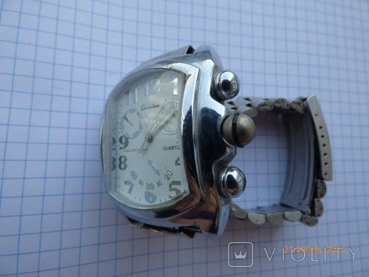 Кварцевые часы на ходу одним лотом, фото №6