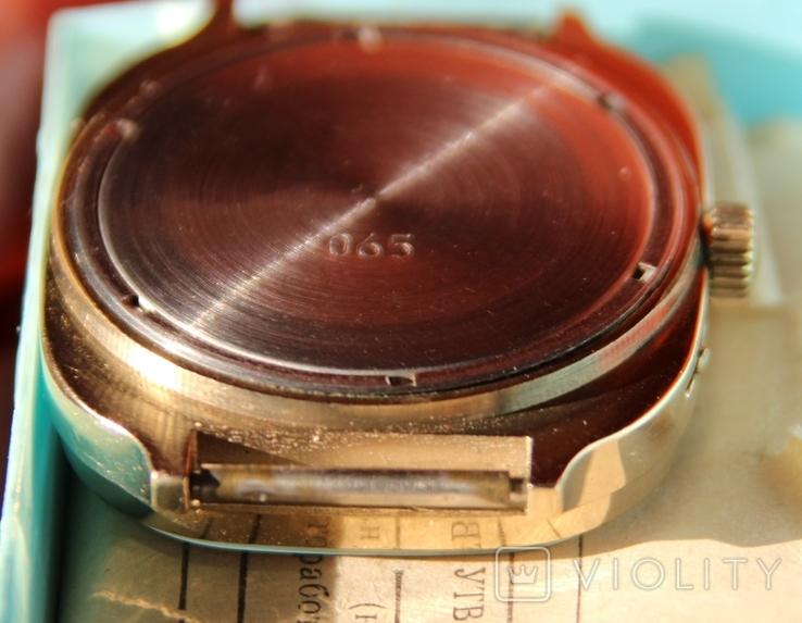 Позолоченные часы SLAVA made USSR на ходу, фото №7