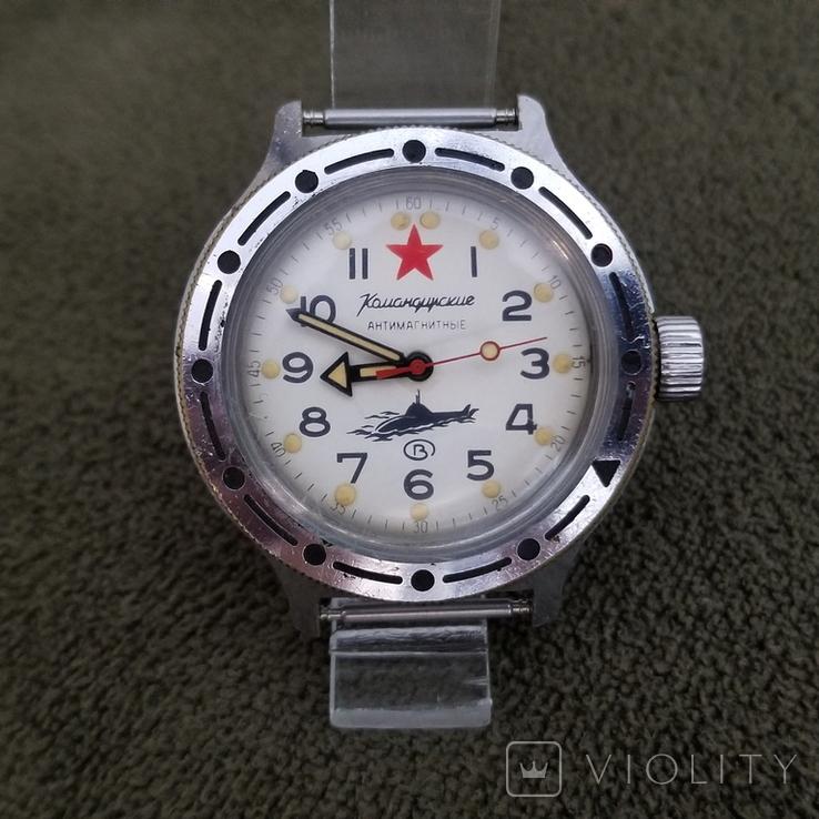 Часы Восток Амфибия Подводная Лодка Антимагнитные СССР (на ходу), фото №2