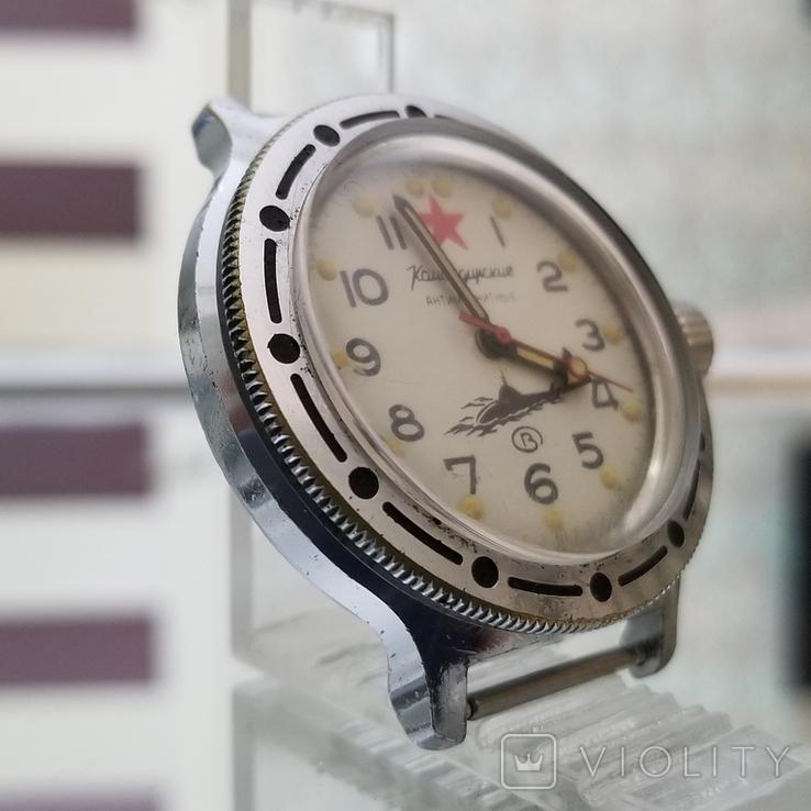 Часы Восток Амфибия Подводная Лодка Антимагнитные СССР (на ходу), фото №3
