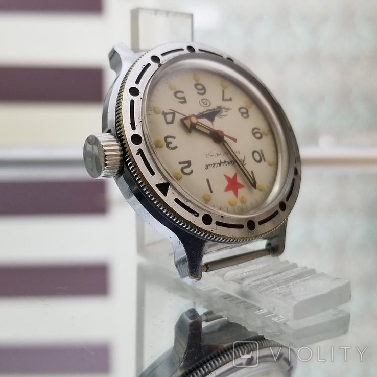 Часы Восток Амфибия Подводная Лодка Антимагнитные СССР (на ходу), фото №5