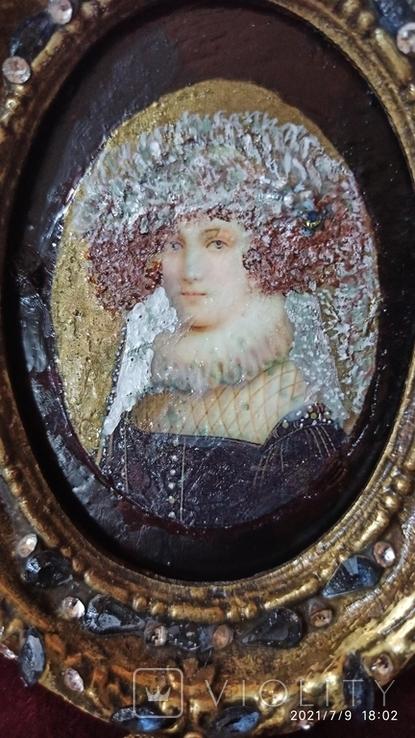 "Портрет ""Мария Стюарт (1542-1587)"", королева Франции и Шотландии, фото №4"