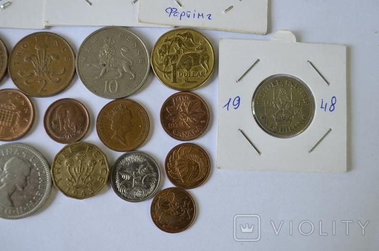 Монети Британії та її колоній без повторів, фото №5