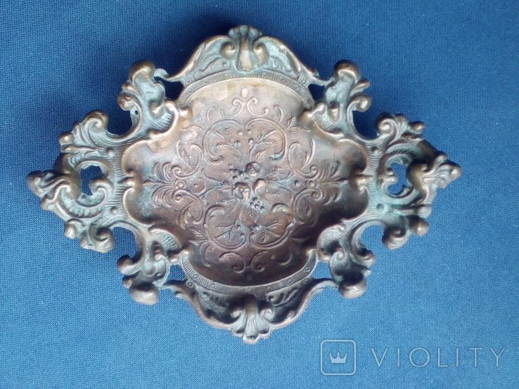 Винтажная Пепельница или Визитница времён СССР, фото №2