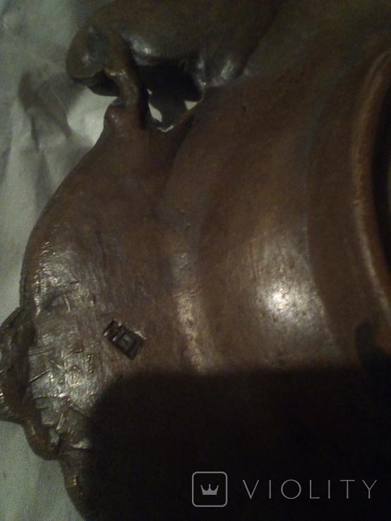Винтажная Пепельница или Визитница времён СССР, фото №8